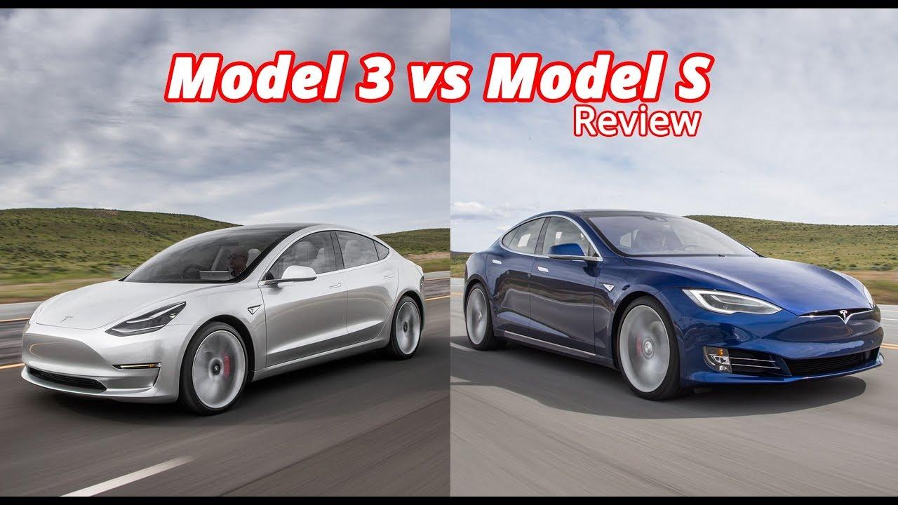 model 3 vs model s comparison review youtube. Black Bedroom Furniture Sets. Home Design Ideas