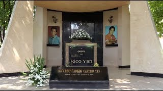 Some of the known personalities buried at Manila Memorial Park