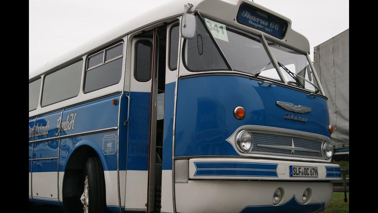 ikarus 66 bus omnibus history classic diesel motor lienienbusreisebus rakete youtube. Black Bedroom Furniture Sets. Home Design Ideas