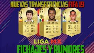 Nuevos Fichajes Liga Mx Para FIFA 19