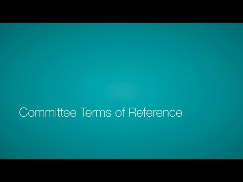 Committee Terms of Reference 1/4