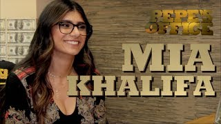 MIA KHALIFA DOES AN OFFICE INTERVIEW - Pepe's Office