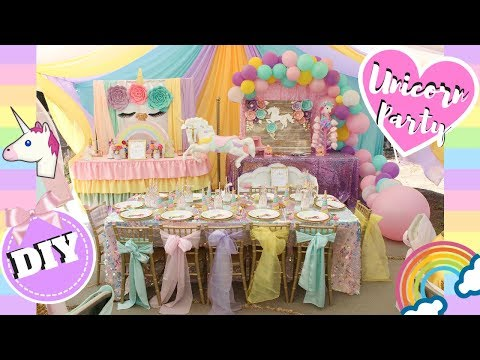 Unicorn Party Ideas   DIY