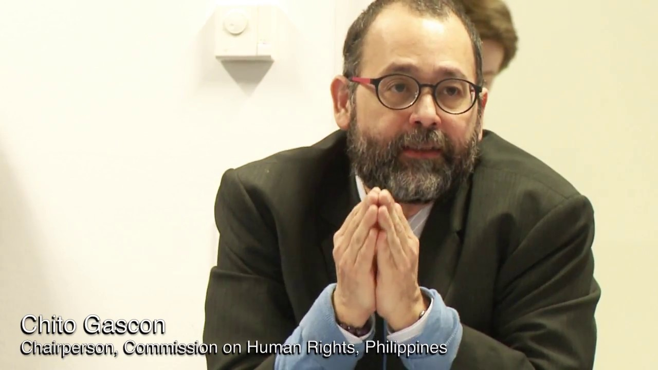 'Chito Gascon had been using CHR to advance LP's propaganda aims'