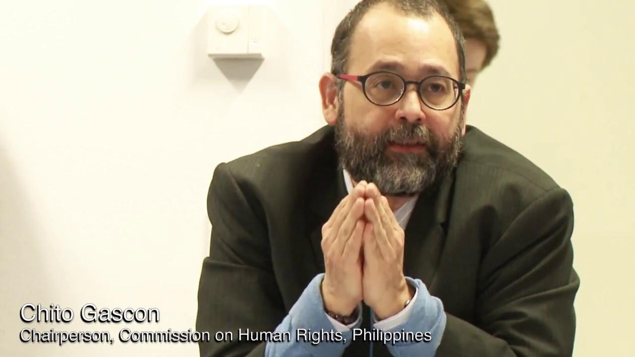 'Chito Gascon had been using CHR to advance LP's propaganda aims'