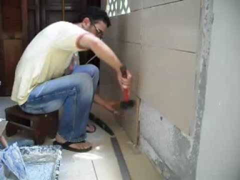 Faience youtube for Salle de bain faience beige