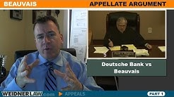 Statute of Limitations in Foreclosure-Part 1, Beauvais