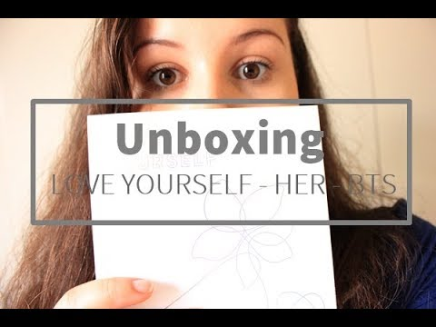 UNBOXING BTS LOVE YOURSELF HER [PT - BR]