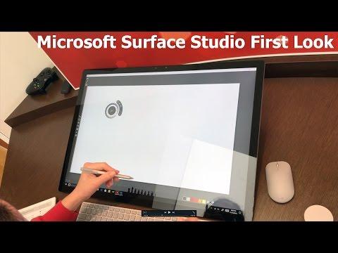 Microsoft Surface Studio First Look