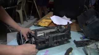 Repeat youtube video EPSON T10 / T11 / T20 / T20E Disassembling Guide