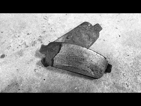 Замена задних колодок Opel Astra j.(доработка задних скоб суппорта)