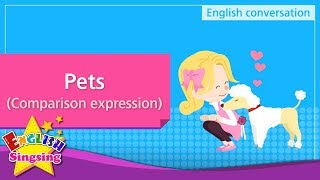 19 Pets Comparison Expression Educational Video For Kids Youtube