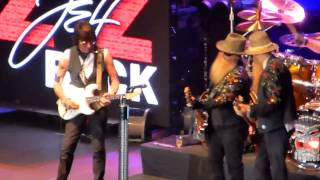 ZZ Top with Jeff Beck: Sixteen Tons