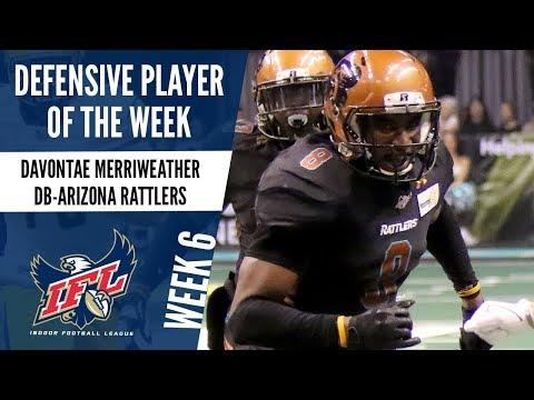 Week 6 Defensive Player of the Week: Davontae Merriweather