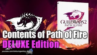 🎮 GW2PoF Path of Fire DELUXE Edition Contents