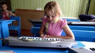 Урок музыки в сельской школе