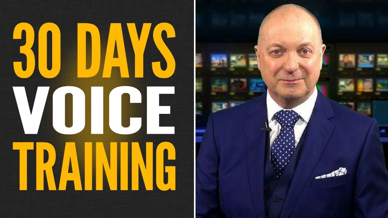 VOICE TRAINING – 30 Days to a More Confident Powerful Voice!