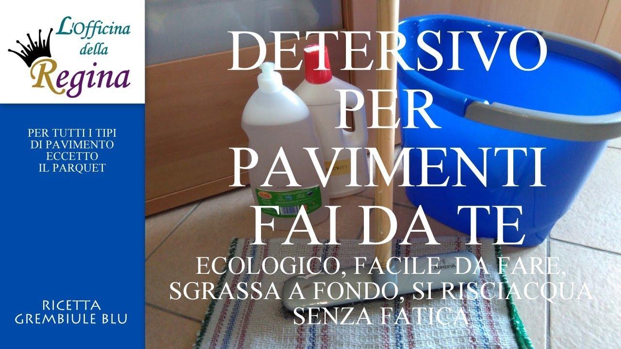 Detersivo Per Pavimenti. Ecologico, Facile Da Fare, Sgrassa A Fondo, Si  Risciacqua Senza Fatica