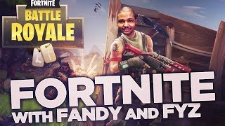 Fortnite With Fandy & Fyz-Everyone is a BOT?