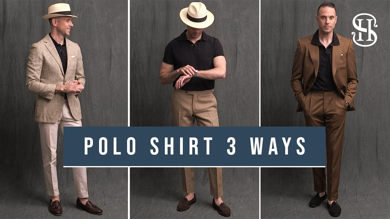 2aefcec843d5c 3 Ways To Wear A Polo Shirt