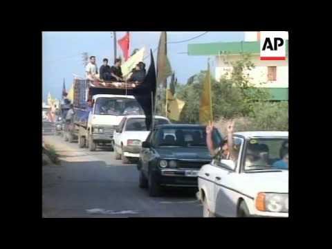 LEBANON: ISRAELI WITHDRAWAL