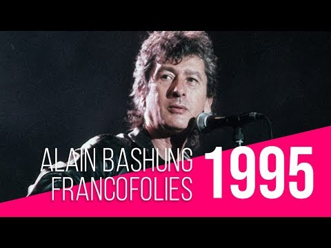 Francofolies 1995 / Alain Bashung : Osez Joséphine (live)