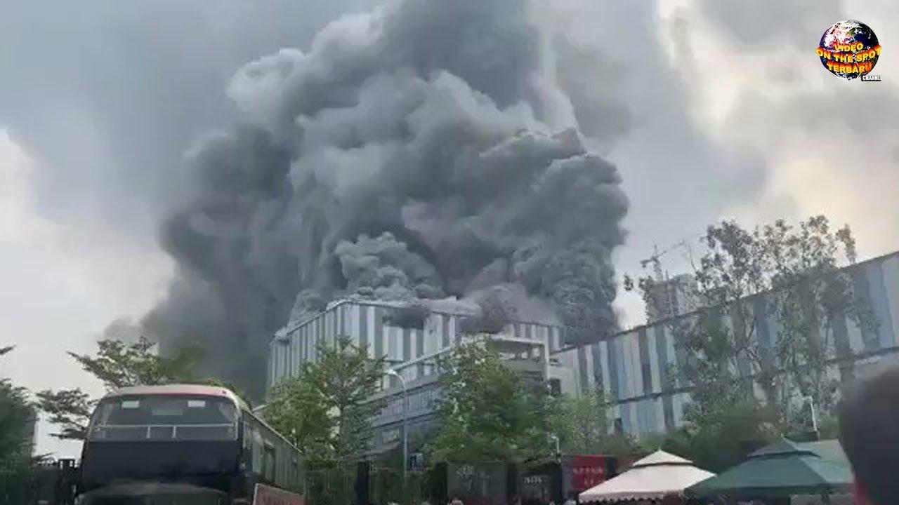 Laboratorium Penelitian Raksasa China Ludes Dilahap Si Jago Merah //Kejadian Mengerikan September