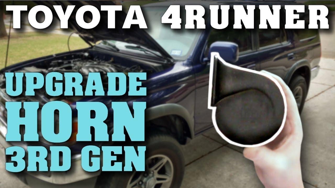 horn upgrade toyota 4runner (3rd gen) youtube ford contour fuse diagram horn upgrade toyota 4runner (3rd gen)