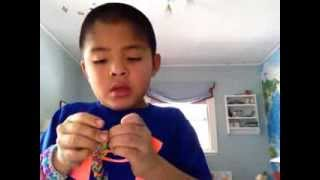 "Rainbow Looms: How to make a ""Sailor"