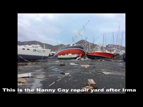 BVI Tortola after Hurricane Irma // Sailing Solen