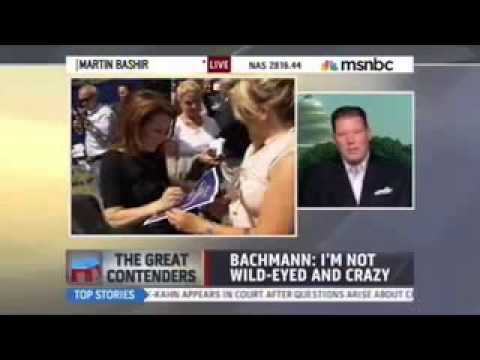 Doug Heye discussing 2012 with Martin Bashir on MSNBC