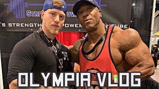 2019 Olympia Expo Vlog