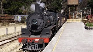 Zig Zag Railway Steam Train - Australian Trains, New South Wales