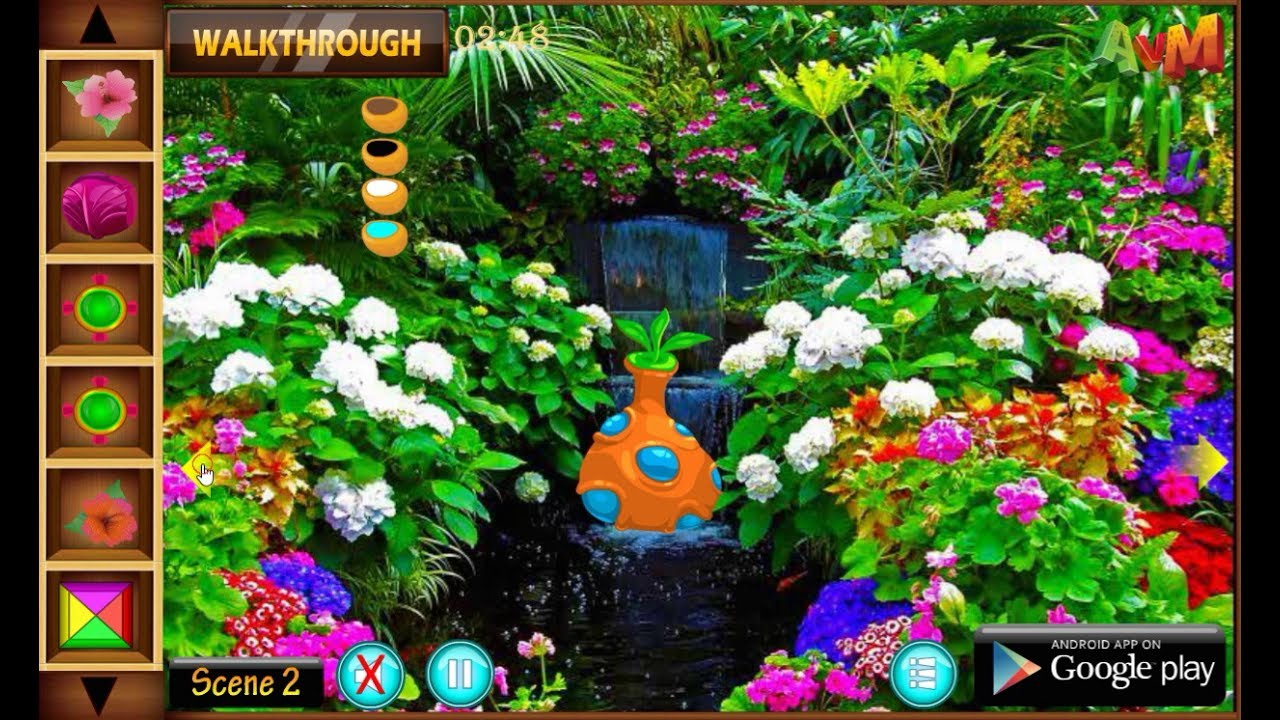 amazing flower garden game mold - beautiful garden