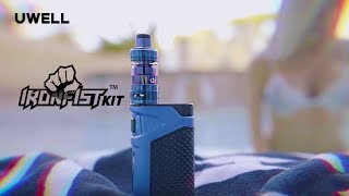 Uwell Ironfist 200W TC Kit with Crown 3 Tank Video