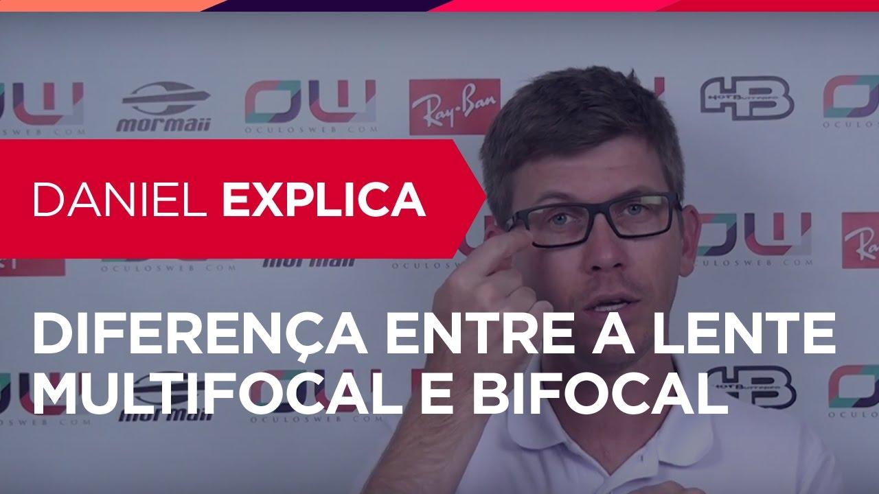 bcf560edb0611 Diferença entre a lente Multifocal e Bifocal