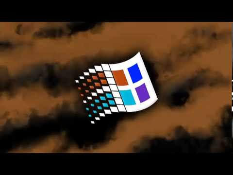 Microsoft windows startup and log on logo 1995 1998 with for Windows 95 startup sound