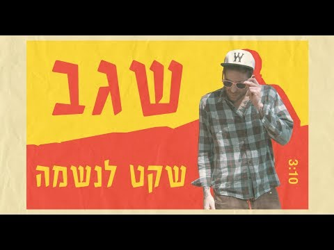 ~ שגב - שקט לנשמה (Official Video/ prod by ZIV) ~