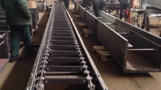 Испытания скребкового конвейера(, 2016-03-02T09:46:24.000Z)