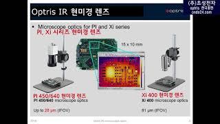 (한국어자막) Optris IR microscope o…