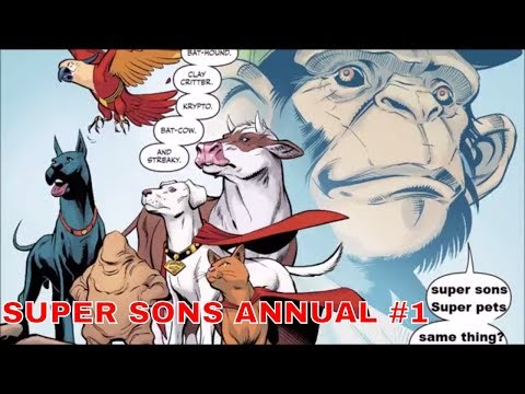 SUPER SONS ANNUAL #1 PULLS A DC COMIC BOOK BAIT & SWITCH