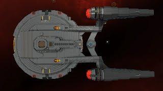 Starship Enterprise in StarMade