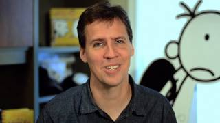 Jeff Kinney introduces his new book 'The Third Wheel'