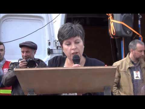 Manifestation CGT et soutien à Eric Colin