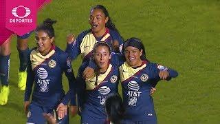 Gol de Diana González | Tigres 0 - 1 América | Gran Final - Liga MX Femenil | Televisa Deportes