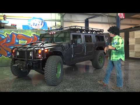 H1 Hummer Wagon Red Line Package Duramax Conversion Johnny Magic Motorhead Messiah