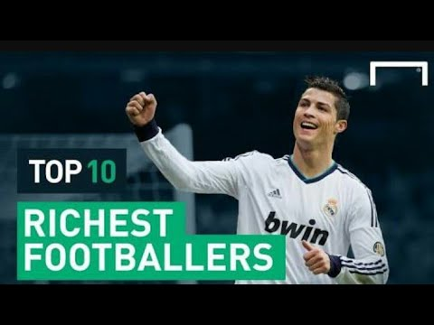 Top ten most rich players of football|list of richest footballers in hd |2017