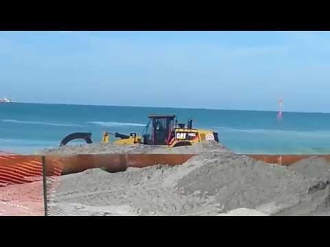 Beach Renourishment - Venice, Florida
