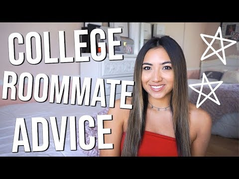 COLLEGE ROOMMATE ADVICE // TIPS FOR BEING A GOOD ROOMMATE!!