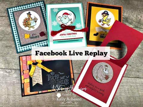 Facebook Live Replay Sept 29, 2019